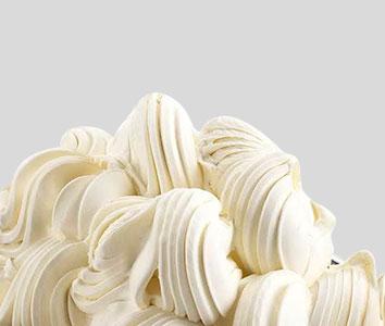 Foto de un helado procesado con materia prima de fabricación italiana.