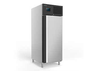 Foto de un congelador vertical HIBER modelo AGF82.1 de 1 puerta