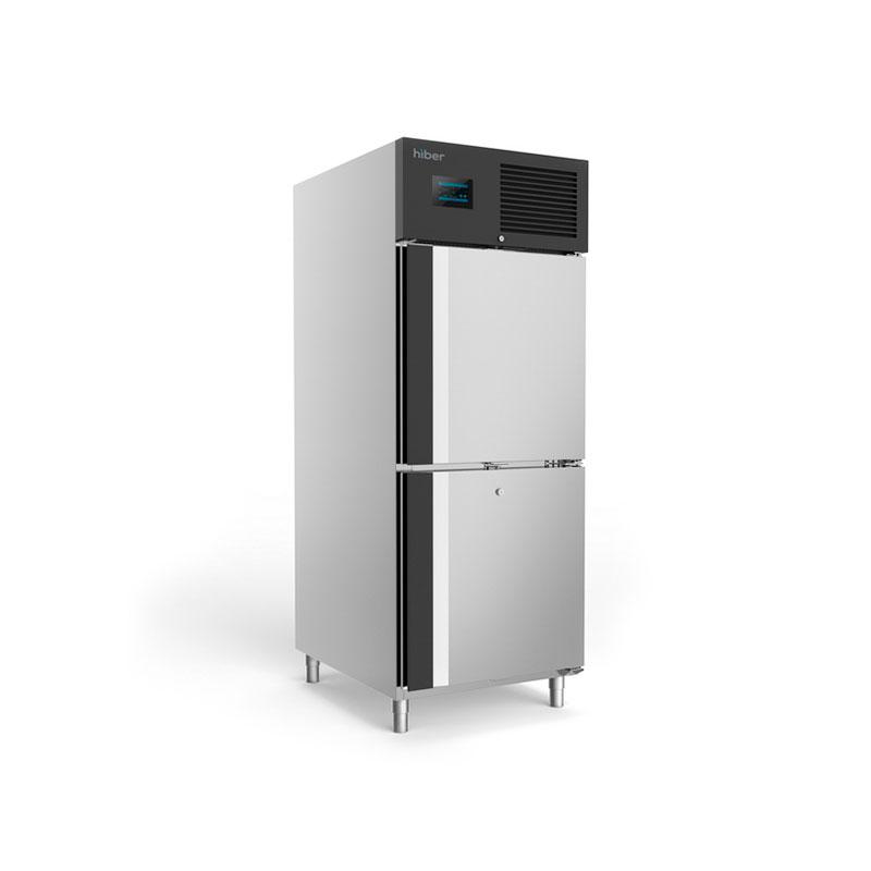 Congelador con software para control remoto de 2 medias puertas