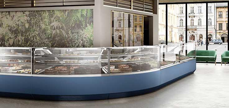 vitrinas exhibidoras de helados fijas