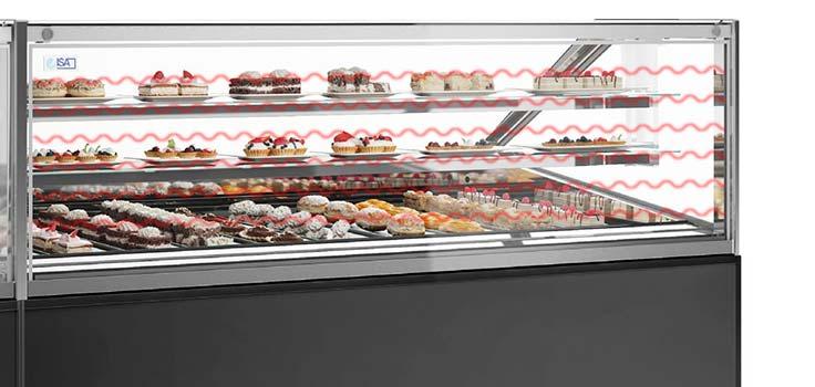 exhibidoras de helados con tecnologia