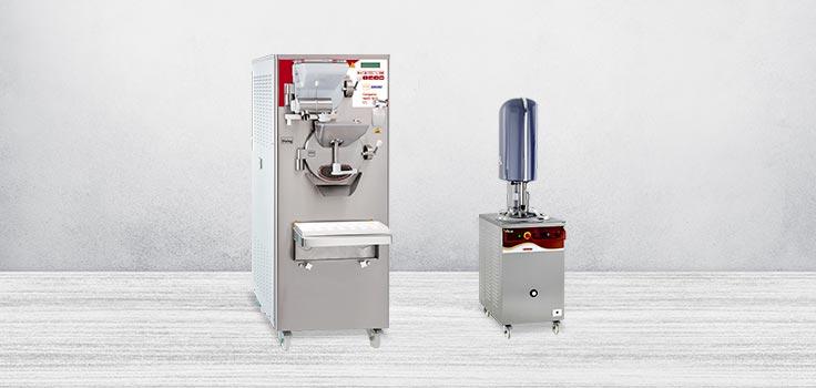 Máquina de bomba para hacer helados y pasteurizador