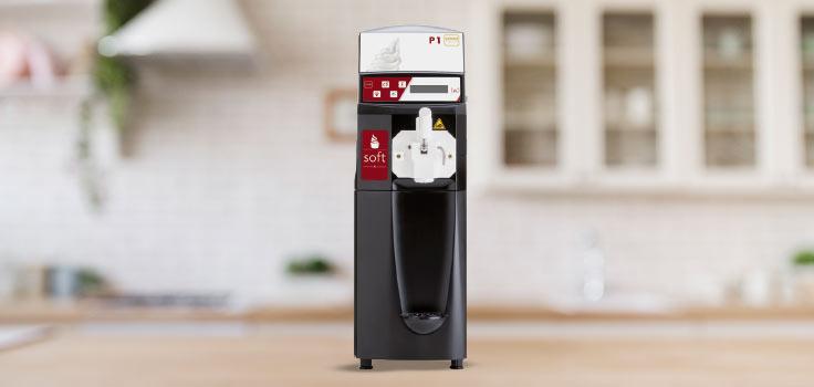 Máquina de helado suave, modelo de pie